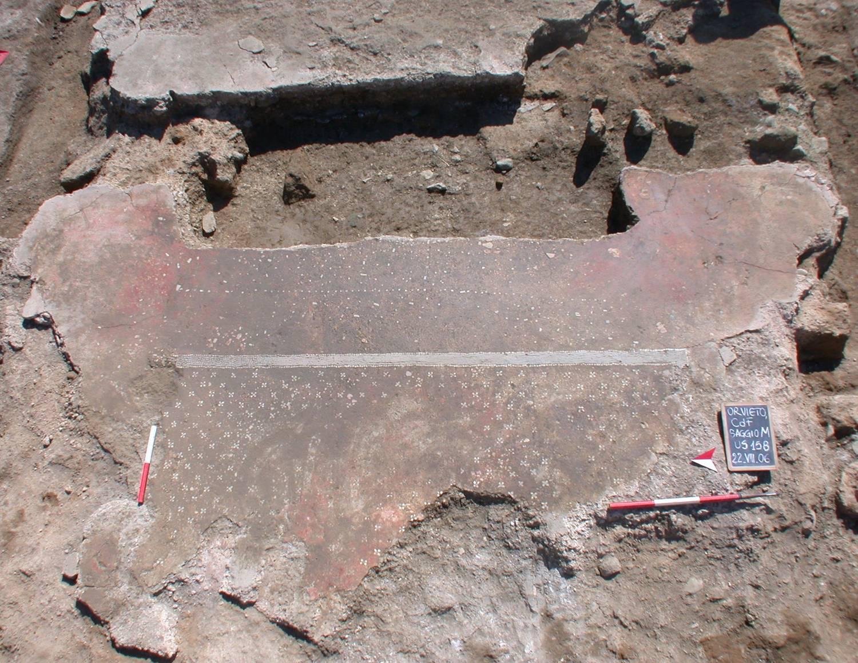 Pavimentazione del tempio A
